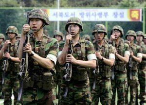 韓国徴兵制1