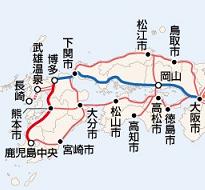 新幹線・基本整備計画地図3