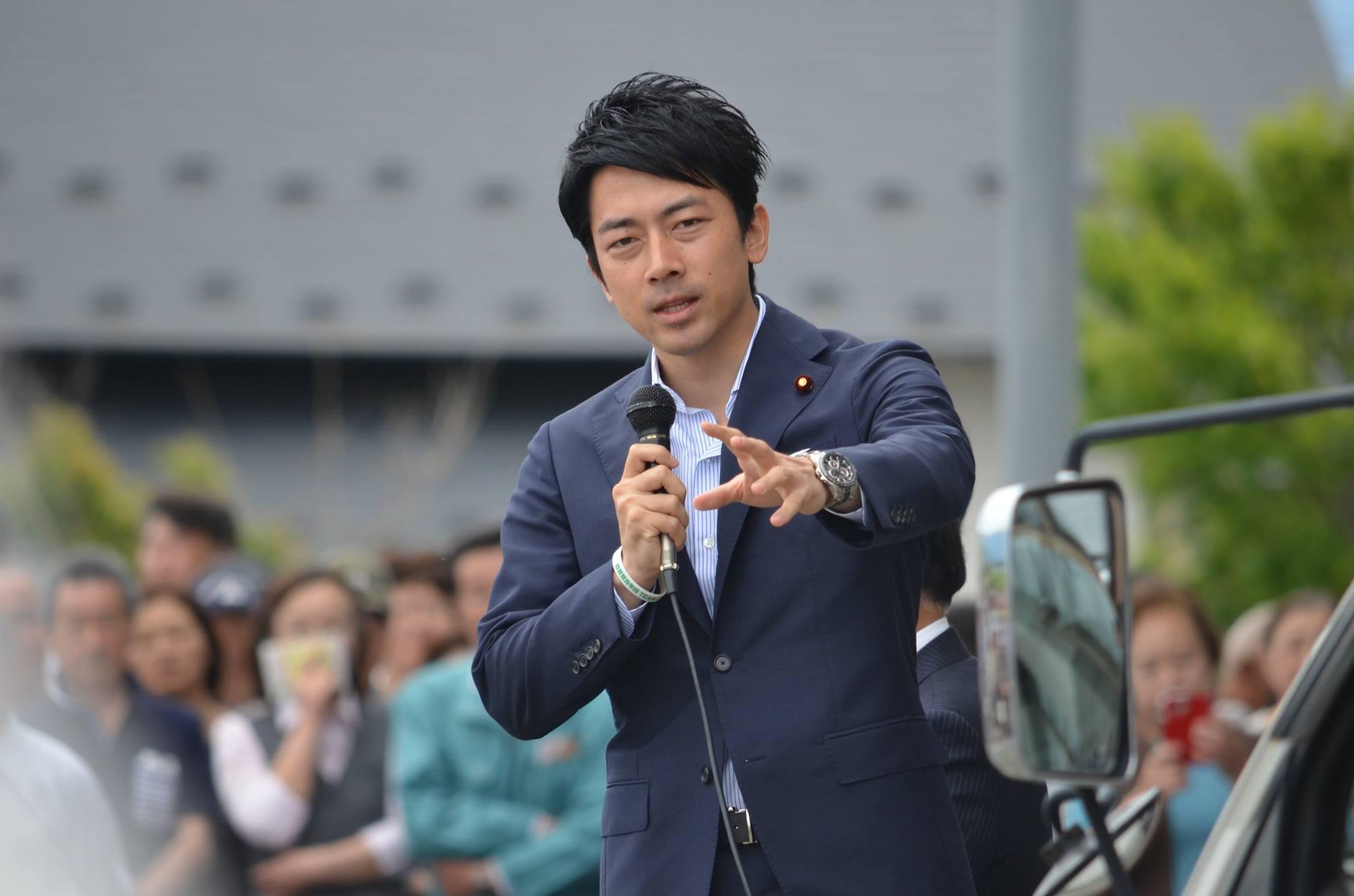 小泉進次郎演説2