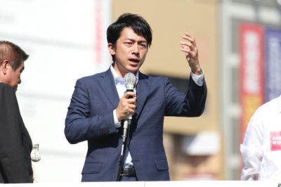 小泉進次郎演説3