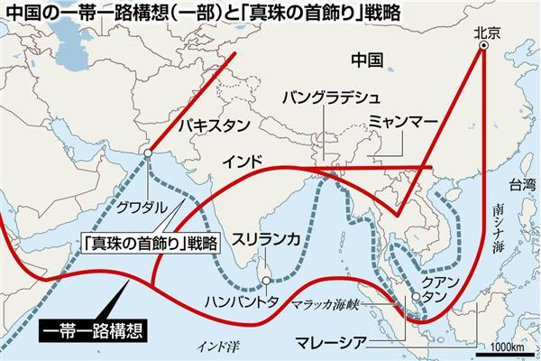 中国一帯一路構想