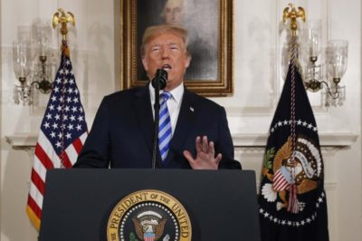 トランプ大統領・合意破棄