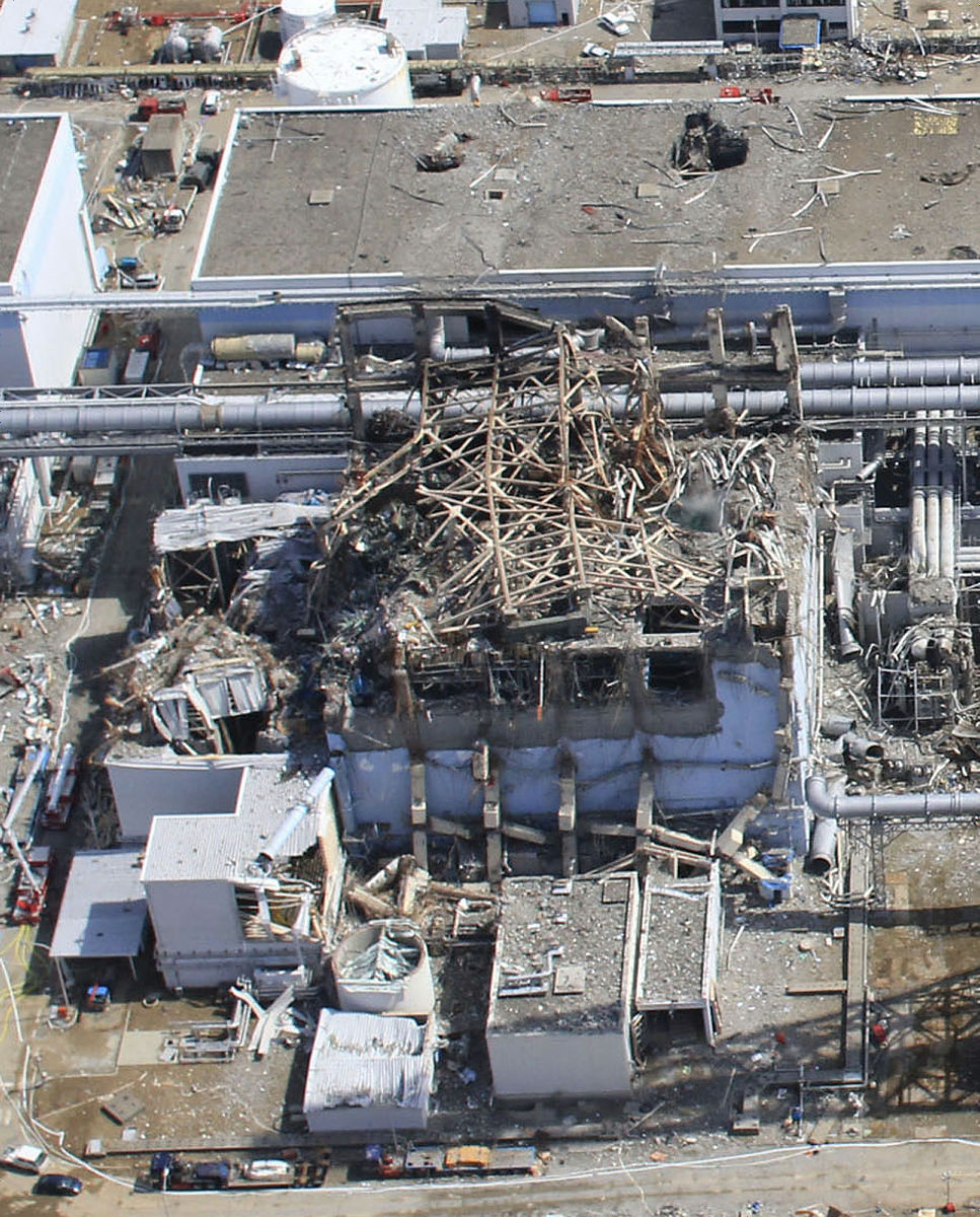福島第一原発・水素爆発